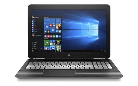 Notebook HP Gaming 15-bc003nc (W7T10EA#BCM) černý/stříbrný