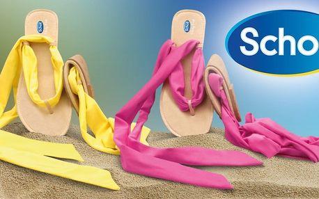 Dámské žabky Scholl s originálním šněrováním