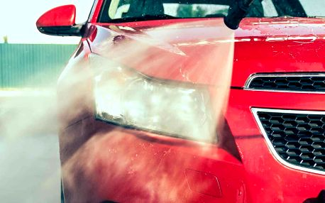 Ruční mytí vašeho vozu dle výběru či tepování