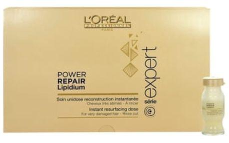 L´Oréal Professionnel Série Expert Absolut Repair Lipidum Power Repair 30x10 ml olej a sérum na vlasy poškozená krabička pro ženy