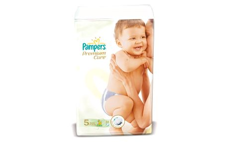 PAMPERS Premium Care 5 JUNIOR 11-18 kg 44 kusů