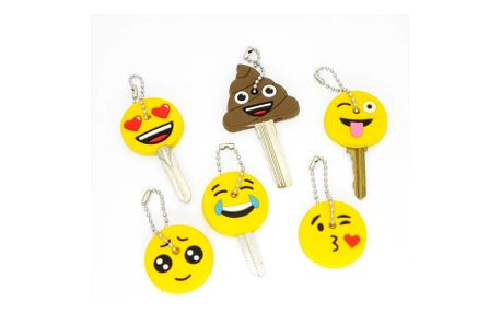Ozdoby na klíče - různé druhy