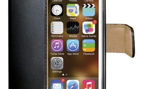 Pouzdro na mobil flipové Celly pro iPhone 5 (WALLY185) černé