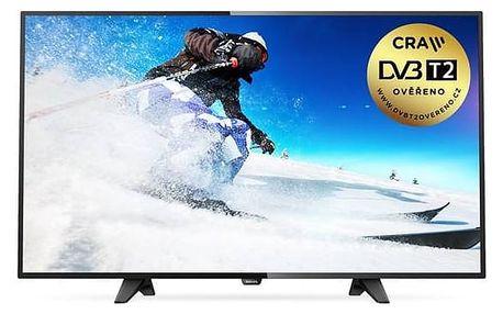 Televize Philips 43PFS4131 černá + Doprava zdarma