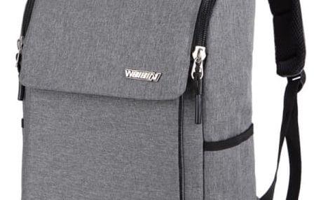 Prostorný batoh vhodný i pro notebook - mix barev
