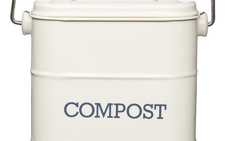 Domácí kompostér Living Nostalgia, krémový