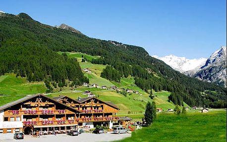 Wellness pobyt s polopenzí pro 2 osoby v malebném prostředí Jižního Tyrolska