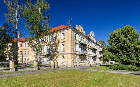 3 až 15denní pobyt s polopenzí a léčebnými procedurami pro 1 v hotelu Luisa ve Fr. Lázních