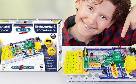 Elektronická stavebnice Boffin pro děti od 8 let