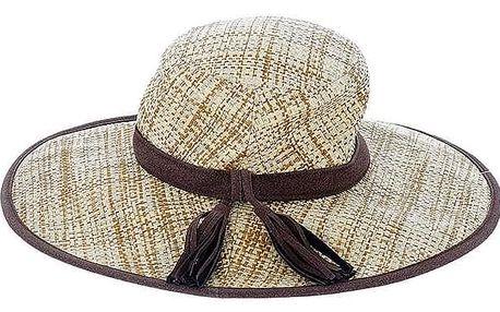 Slaměný klobouk BLE by Inart Tassel