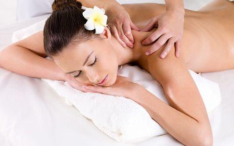 60min. masáž na Praze 5: na výběr 14 druhů masáží