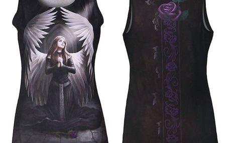 Dámské tílko s gotickým potiskem