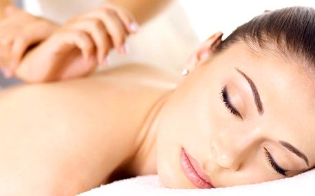 Hodinová uvolňující masáž zad, šíje a končetin