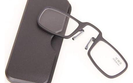 Praktické cestovní dioptrické brýle na čtení - různé barvy