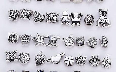 Sada korálků pro výrobu vlastních šperků nebo dekorací - 40 kusů