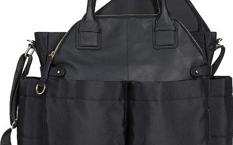 SKIP HOP Přebalovací taška Chelsea - barva černá