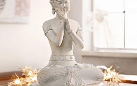 """Dekorační figurka """"meditující buddha"""""""