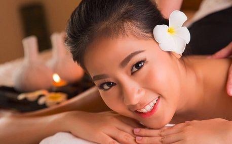 90 minut relaxace v nových prostorech Thai Sunu