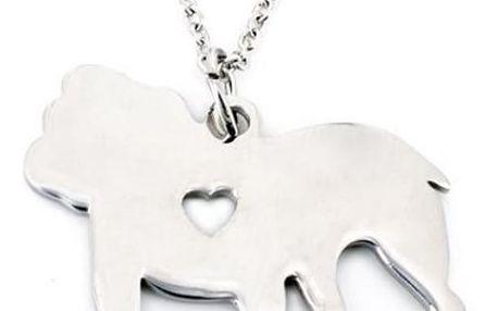 Zvířátkový náhrdelník z chirurgické oceli