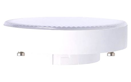 Žárovka LED Tesla bodová, 6W, GX53, teplá bílá