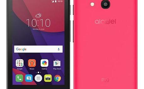 Mobilní telefon ALCATEL PIXI 4 (4) 4034D (4034D-2CALE11) růžový