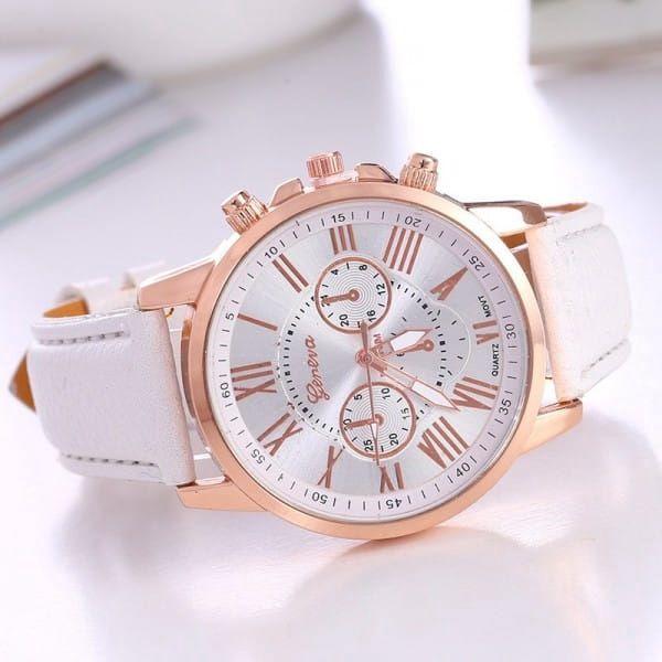 Luxusní unisex hodinky s římskými číslicemi - 14 barev