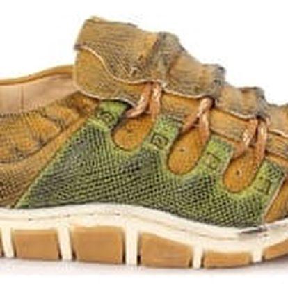 Dámská jarní obuv MODERN WORLD zelená