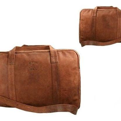 Pánská taška z pravé kůže 141-H BIG Orange