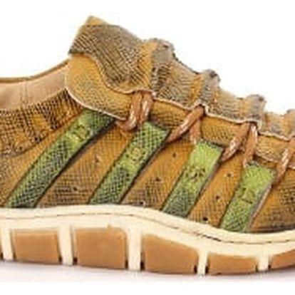 Dámská jarní obuv DIERMAN zelená