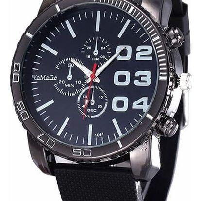 Pánské hodinky s atypickým ciferníkem - 6 barev