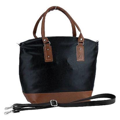 Dámská kabelka Elfrika černá + hnědá