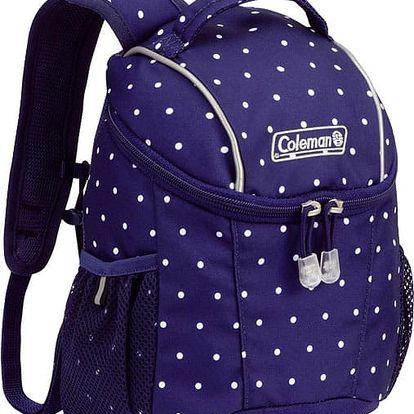 COLEMAN Dětský batoh PETIT 4, Tmavě modrý s puntíky, 165 g