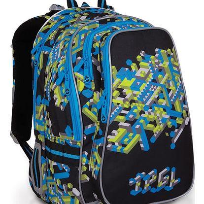 Školní batoh Topgal CHI 700 A - Black