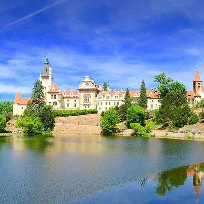 3denní pobyt se snídaní v Průhonicích u Prahy