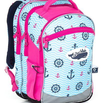 Školní batoh Topgal CHI 802 H - Pink