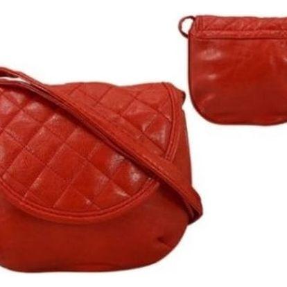 Dámská kabelka z ekokůže 651 Red