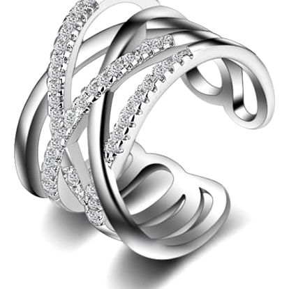 Elegantní prstýnek s nastavitelnou velikostí