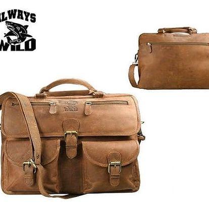 Pánská taška z pravé kůže 146-H