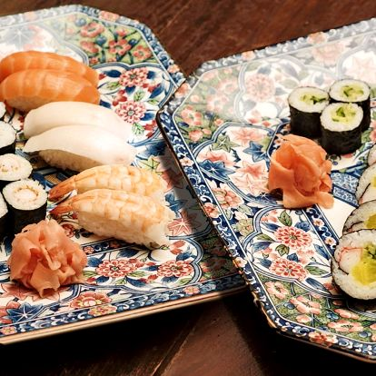 Sushi a plněné taštičky pro dospělé i děti