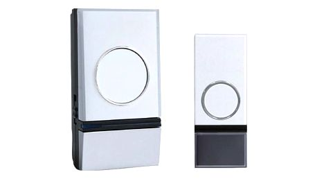 Solight 1L28 bezdrátový zvonek do zásuvky,200m, bílý,learning