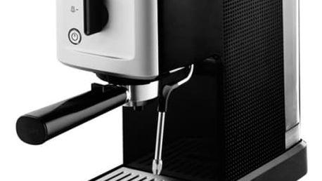 Espresso Krups XP344010 černé/nerez