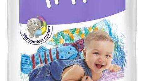 Plenky Bella Baby Happy Midi 52 ks Ubrousky čistící Bella Baby Happy hedvábí a bavlna 64 ks (zdarma)