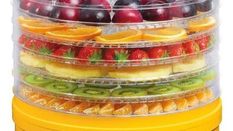 Sušička ovoce Concept SO-1015 bílá/žlutá