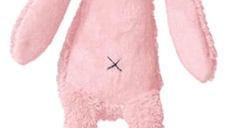 HAPPY HORSE Růžový Králíček Richie Hudební, 34 cm