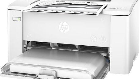 HP LaserJet Pro M102w - G3Q35A + Fotopapír Safeprint pro laserové tiskárny Glossy, 135g, A4, 10 sheets v hodnotě 100Kč