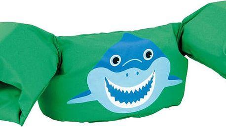 SEVYLOR Plovací top PLAVÁČEK (nosnost 15-30 kg), zelený - žralok