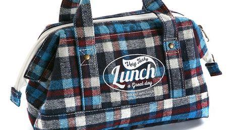 Úložná modrá taška na jídlo Versa Lunch Bag