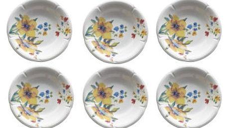 Sada 6 hlubokých talířů Kaleidos Clori Weekend