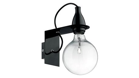 Nástěnné svítidlo Evergreen Lights City Black - doprava zdarma!