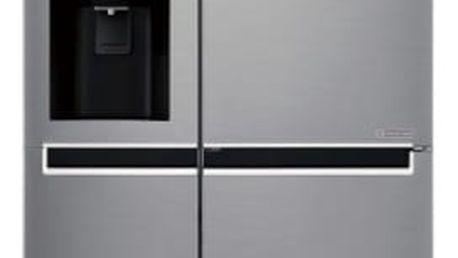 Kombinace chladničky s mrazničkou LG GSL760PZUZ nerez